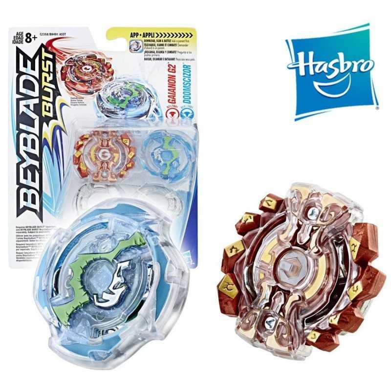 Beyblade Burst - Duo Beyblade - Gainon G2 y Doomscizor - Hasbro