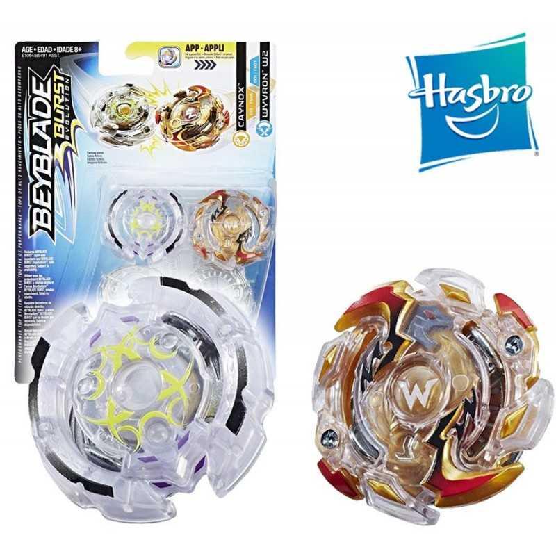 Beyblade Burst - Duo Beyblade - Caynox y Wyvron W2 - Hasbro
