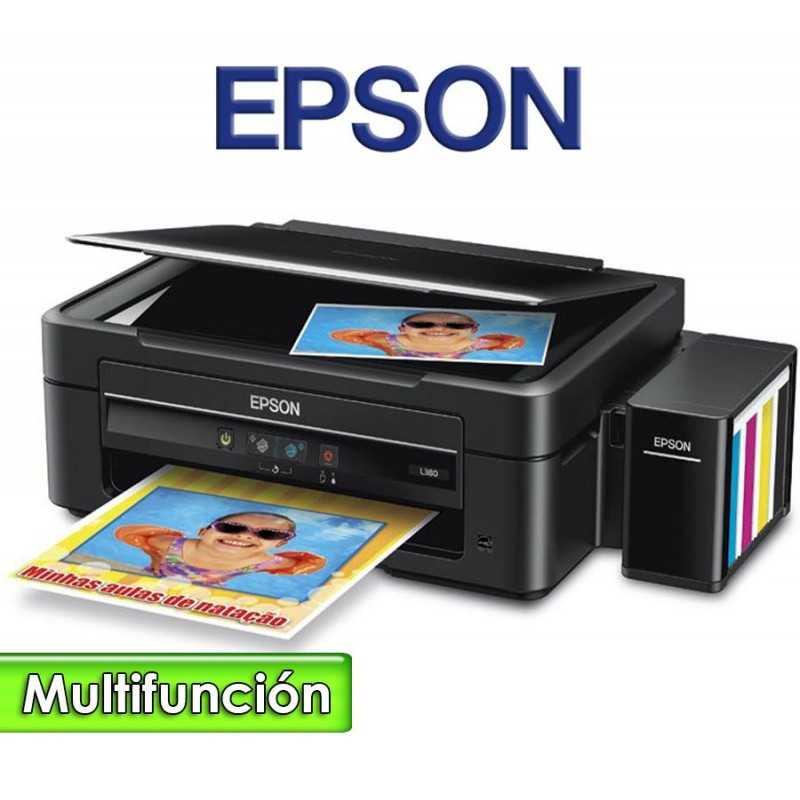 Impresora Multifuncion con EcoTank - Epson - L380