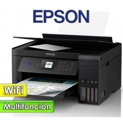 Impresora WiFi Multifuncion con EcoTank - Epson - L4160