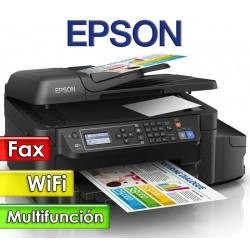 Impresora Wifi Fax Multifuncion con EcoTank - Epson - L575