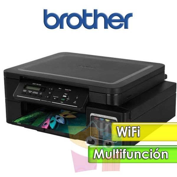 Impresora WiFi Multifuncion - Brother - DCP-T510W