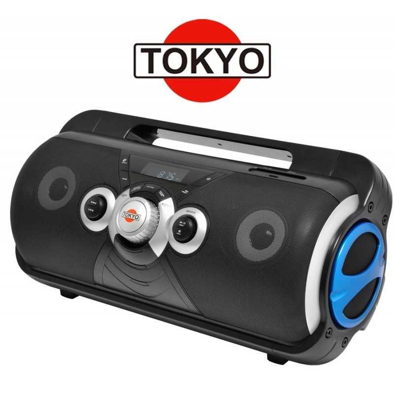 Radio Portatil Boombox Azul - Tokyo - ELTBB89UAZ