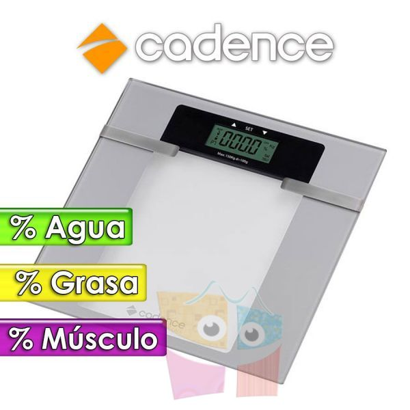 Balanza Inteligente de Baño Smart Care - Cadence - BAL200