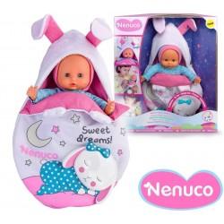 Muñeca Nenuco - Saquito de dormir Magico - 25 cms