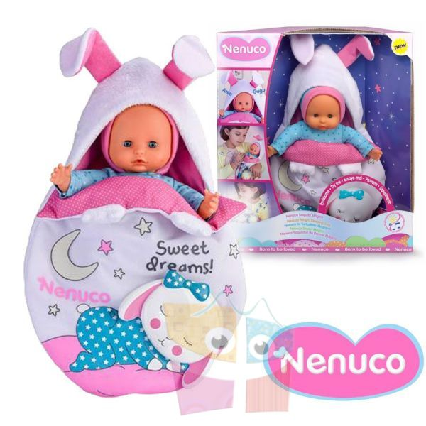 Muñeca Nenuco - Magic Sleeping Bag - 25 cms