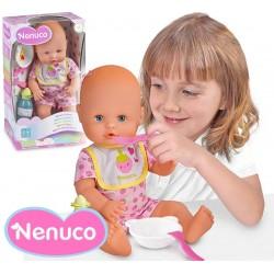 Muñeca Nenuco Cuidados a Comer - 35 cms