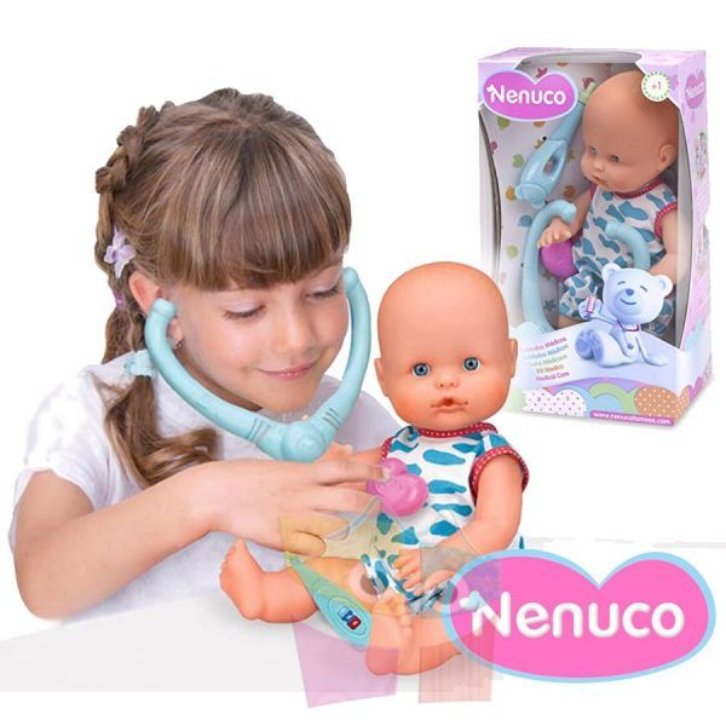 Muñeca Nenuco Cuidados Medicos - 35 cms