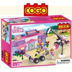 Set de Grabacion - Juego de Construcción - Cogo Blocks - 250 piezas