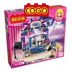 Estudio de TV - Juego de Construcción - Cogo Blocks - 227 piezas