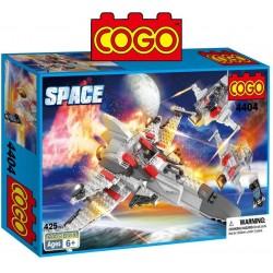 Batalla Espacial - Juego de Construcción - Cogo Blocks - 425 piezas