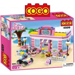 Restaurant Sea Food - Juego de Construcción - Cogo Blocks - 500 piezas