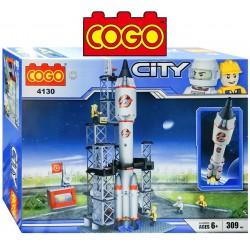 Cohete Espacial - Juego de Construcción - Cogo Blocks