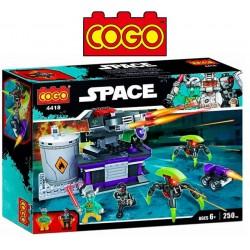 Estacion de Batalla Espacial - Juego de Construcción - Cogo Blocks - 250 piezas