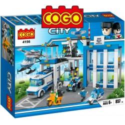 Estacion Policial - Juego de Construcción - Cogo Blocks - 857 piezas