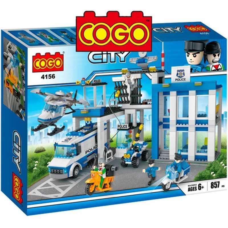 Estacion Policial - Juego de Construcción - Cogo Blocks