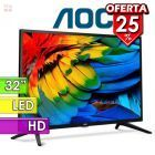 "TV Led HD 32"" - AOC - LE32M1370"