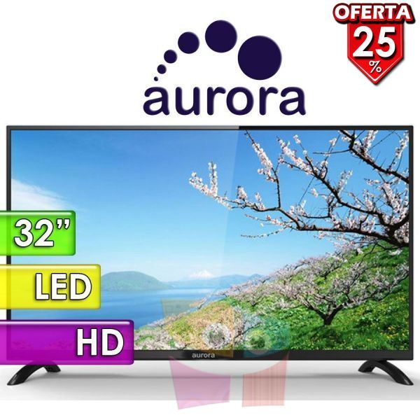 "TV Led HD 32"" - Aurora - 32C9"