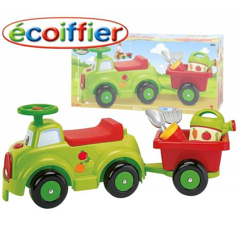 Camioncito de Jardineria - Ecoiffier - PORTEUR GARNI 83 CM