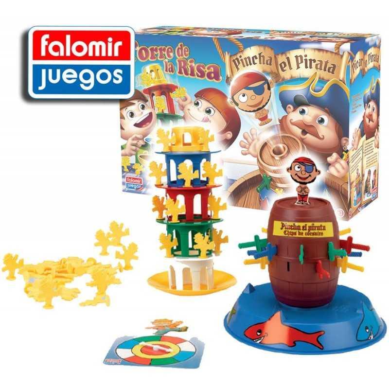 PINCHA PIRATA + TORRE RISA - Falomir