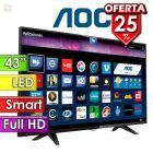 "TV Led Smart Full HD 43"" - AOC - LE43S5970"