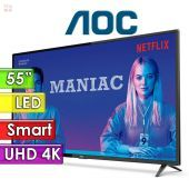 "TV Led Smart 4K UHD 55"" - AOC - 55U6285"