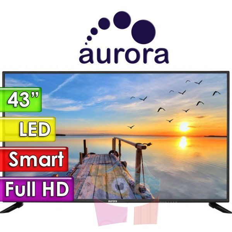 """TV Led Smart Full HD 43"""" - Aurora - 43F6"""