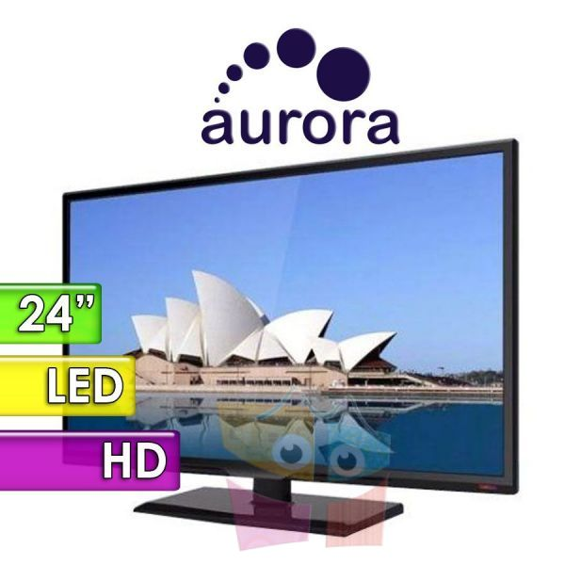"TV Monitor Led HD 24"" - Aurora - 24C2N"
