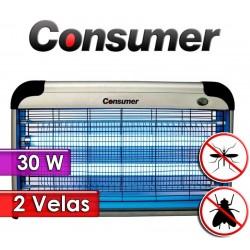 Mata Insectos Eléctrico de 2 Velas 30 Watts - Consumer