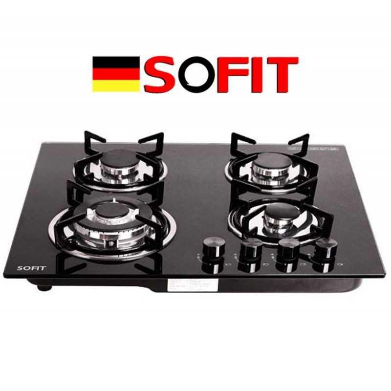 Cocina Empotrable a Gas de 4 Hornallas  - Sofit - SF-QB4002A