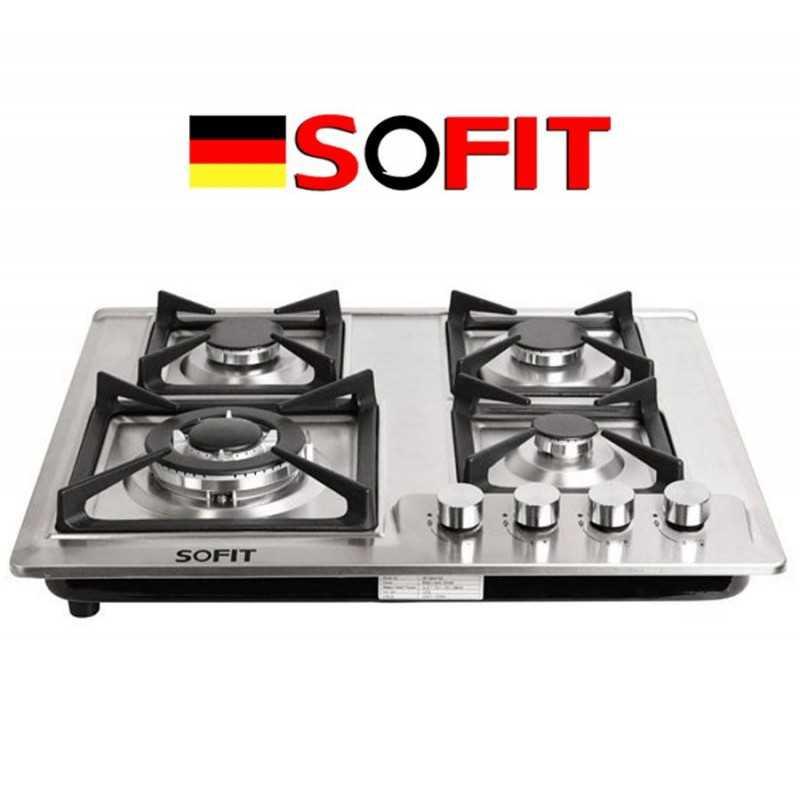 Cocina Anafe a Gas de 5 Hornallas - Sofit - SF-QM5207