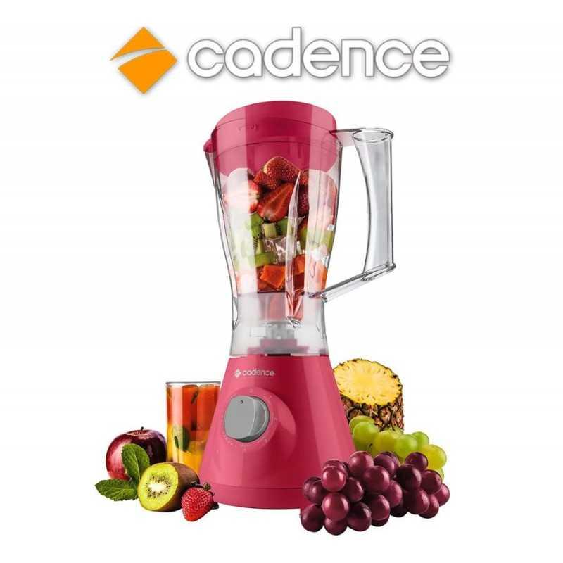 Licuadora Trapéze Colors Evolution Rosa - Cadence - LIQ355