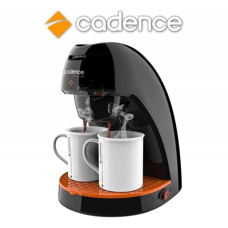 Cafetera Single Colors Negra - Cadence - CAF218