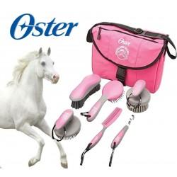 kit de aseo para Caballos - Oster - Rosa 078399-325