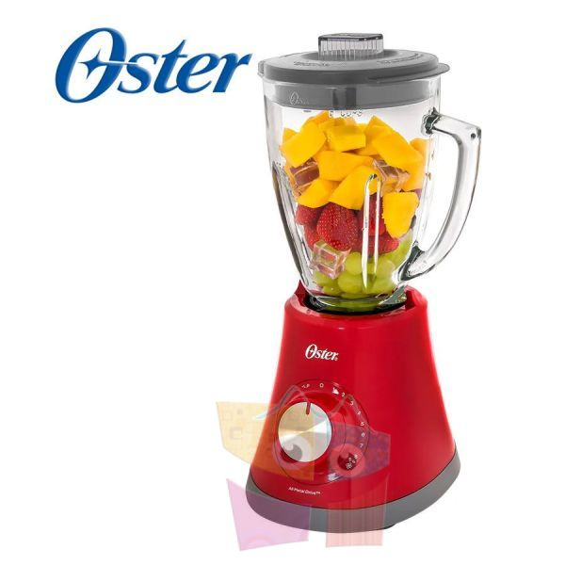 Licuadora Super Chef Oster Blender - Oster - Roja BLSTMG-RR8-357