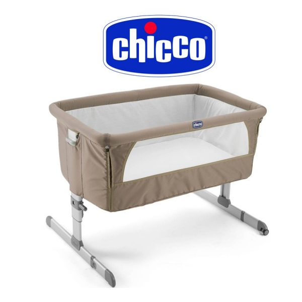 Cuna Corralito - Chicco - Next2me Dove Grey 79339-72