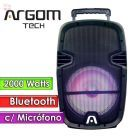 "Parlante Bluetooth 2000W 10""  - Argom Tech - SOUNDBASH 21 BT"