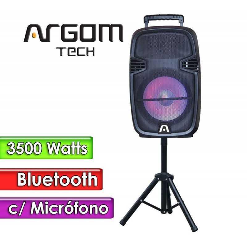 "Parlante Bluetooth 3500W 15""  - Argom Tech - SOUNDBASH 95 BT"