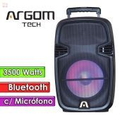 "Parlante Bluetooth 3500W 15""  - Argom Tech - SOUNDBASH 97 BT"