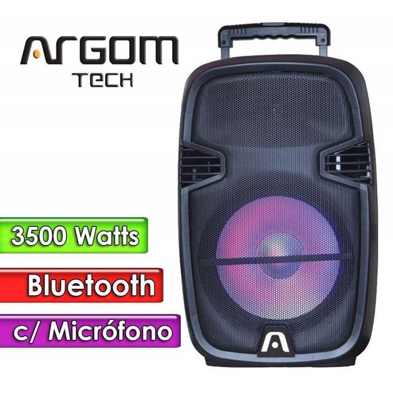 "Parlante Bluetooth 3500W 15""  - Argom Tech - SOUNDBASH 97 BT"