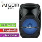 "Parlante Bluetooth 3500W 15""  - Argom Tech - SOUNDBASH 99 BT"