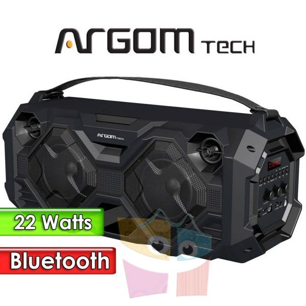 "Parlante Inalámbrico Bluetooth 22W 4"" - Argom Tech - SLAMBOX BEATS PLUS"