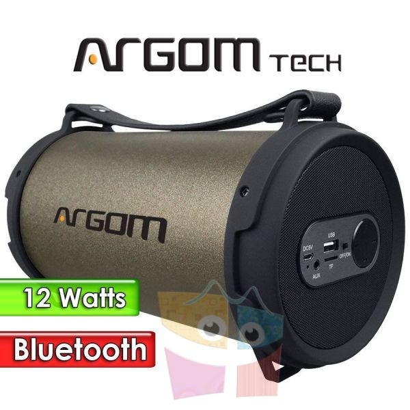 Parlante Inalámbrico Bluetooth 18W - Argom Tech - BAZOOKA BEATS