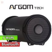 Parlante Inalámbrico Bluetooth 6W - Argom Tech - BAZOOKA AIR NEGRO