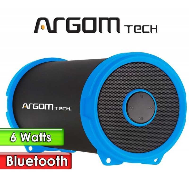 Parlante Inalámbrico Bluetooth 6W - Argom Tech - BAZOOKA AIR AZUL