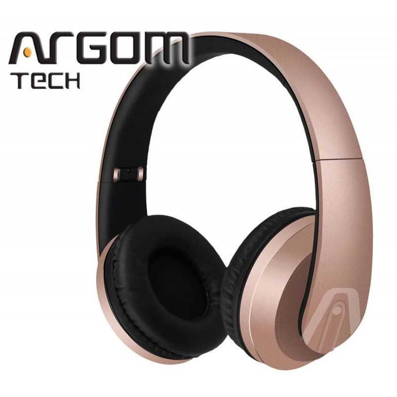 Auriculares Inalámbrico Bluetooth - Argom Tech - ULTIMATE SOUND NEGRO