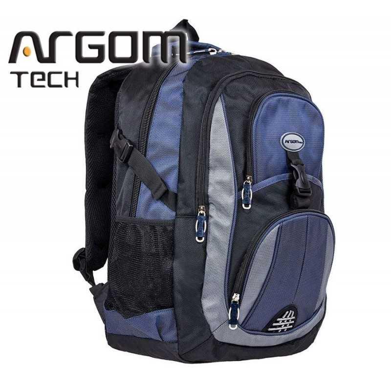 """Mochila Azul para Notebook de 15.6""""  - Argom Tech - Azul"""