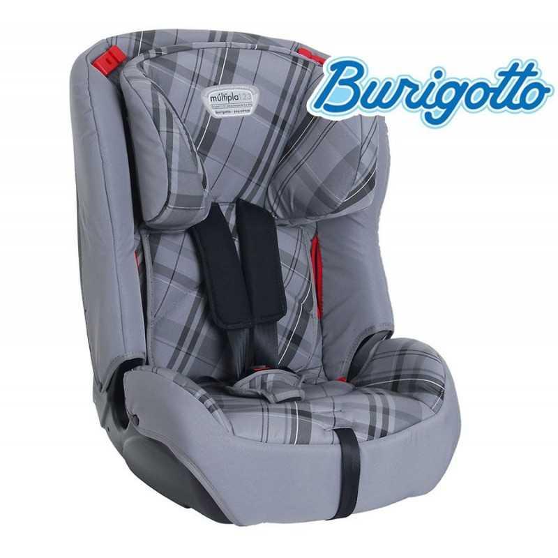 Asiento para auto para bebés y niños - Burigotto - Multipla Gris y Naranja IXAU3037PR93