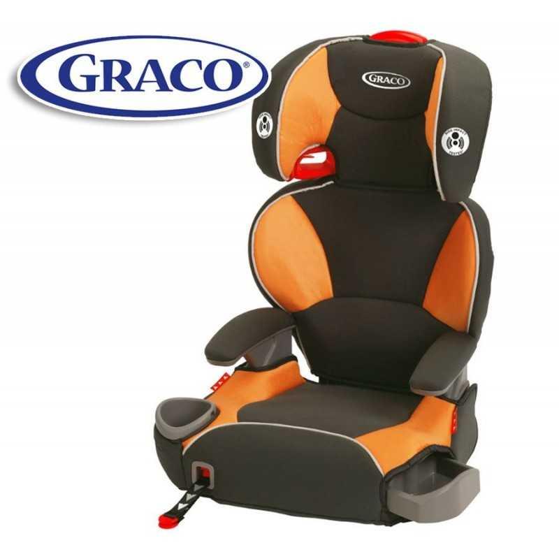 Asiento para auto para bebés y niños - Graco - AFFIX Tangerine 1875291