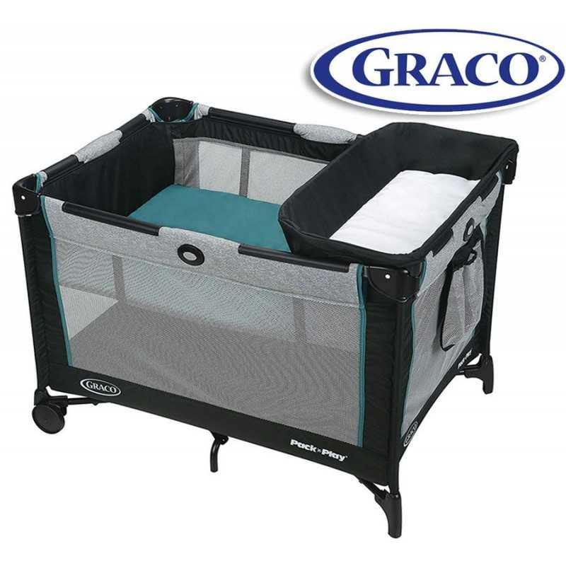 Cuna Corralito - Graco - DARCIE Simple Solutions con Cambiador 2000534